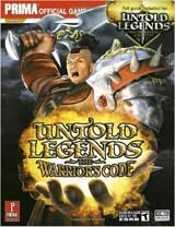 Untold Legends: Warriors Code Official Strategy Guide