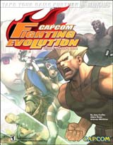 Capcom Fighting Evolution Official Strategy Guide Book