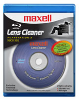 Blu-ray/DVD Lens Cleaner by Maxell