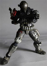 71625a43fd5520 Buy Merchandise Halo: Reach Play Arts Kai Emile-A239 Action Figure ...