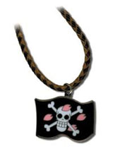 One Piece Chopper Flag Necklace
