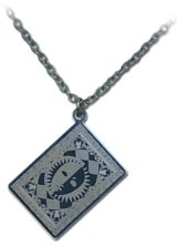 Persona 4 Card Necklace