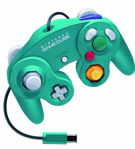 GameCube Controller Emerald Blue