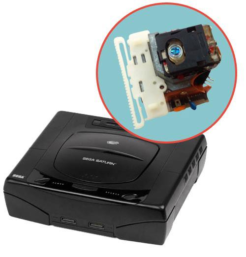 Sega Saturn Repairs: Laser Pickup Replacement Service