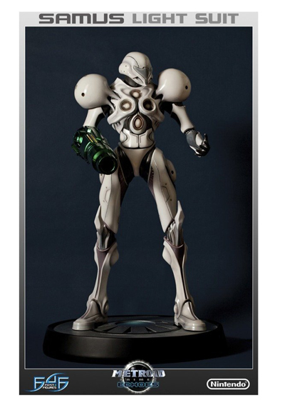 Metroid Prime 2 Samus Light Suit 1/4 Scale Statue