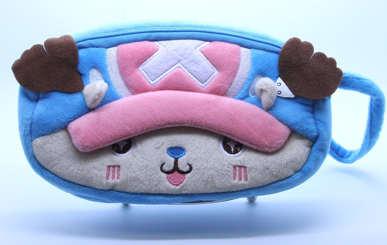 One Piece Chopper Blue Wrist Purse