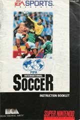 FIFA International Soccer (Instruction Manual)