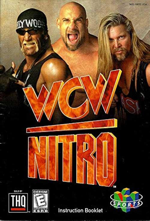 WCW Nitro (Instruction Manual)