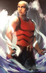 Aqualad Digital Print