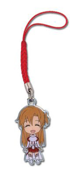 Sword Art Online SD Asuna Metal Cell Phone Charm