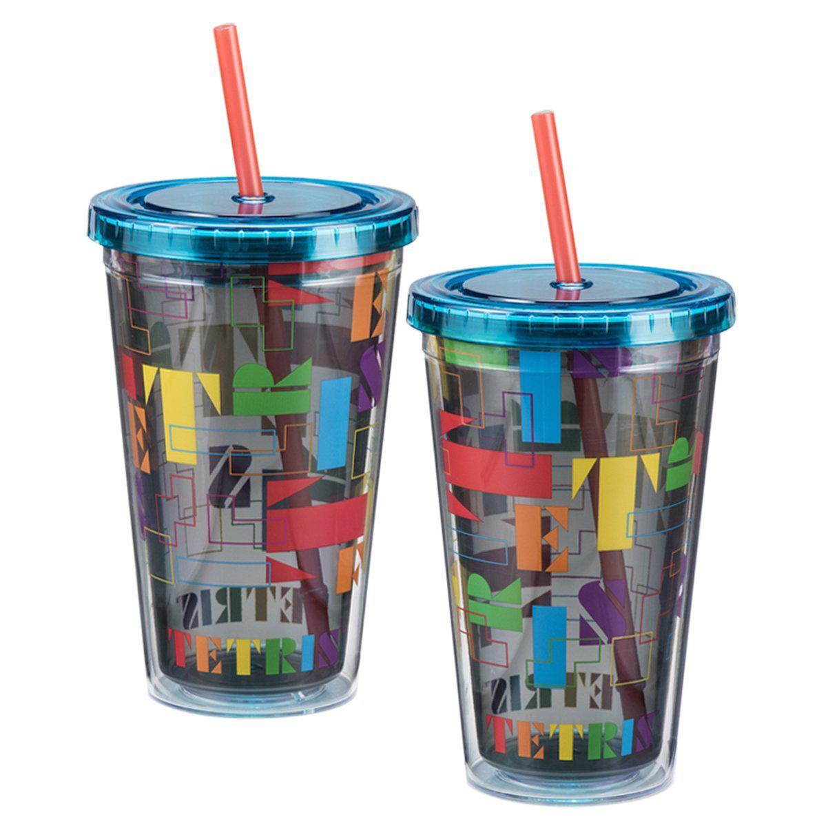 Tetris Letter Art 18oz Carnival Cup