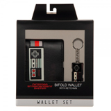 Nintendo Controller Wallet and Keychain Gift Set