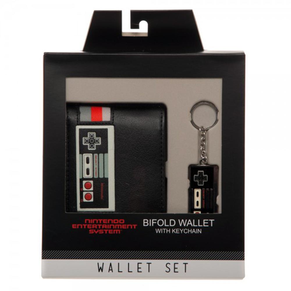 Nintendo Controller Wallet & Keychain Set