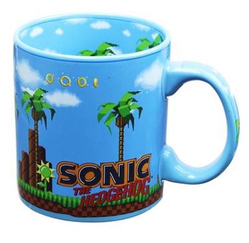 Sonic the Hedgehog Green Zone 20oz Mug