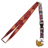 Legend of Zelda Wind Waker Lanyard With Charm