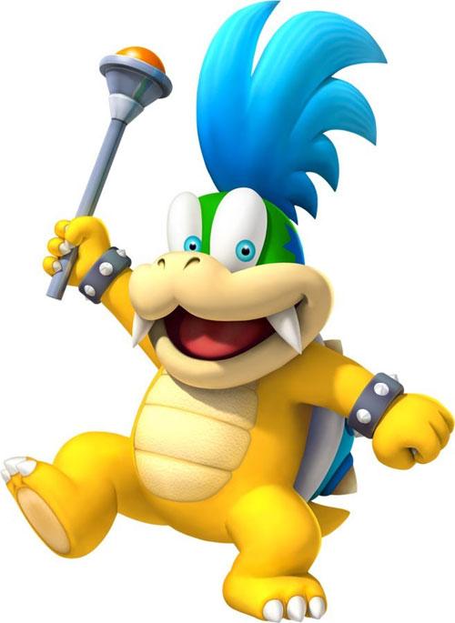 Nintendo 2.5 Inch Figure Larry Koopa