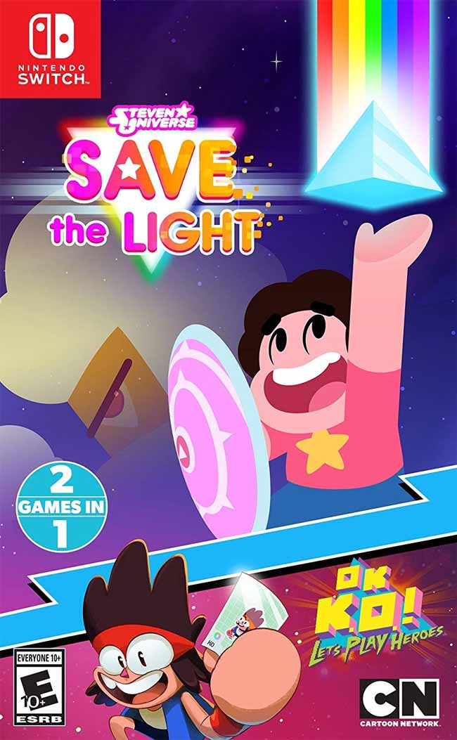 Steven Universe Save the Light & Ok K.O. Let's Play Heroes