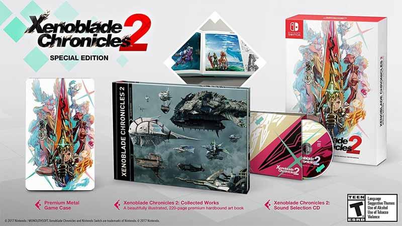 Xenoblade Chronicles 2 Special Edition bonus material