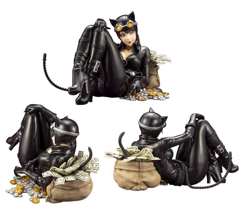 DC Comics Catwoman Returns Bishoujo Statue additional angles