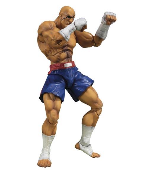 Street Fighter V: Sagat S.H. Figuarts Action Figure