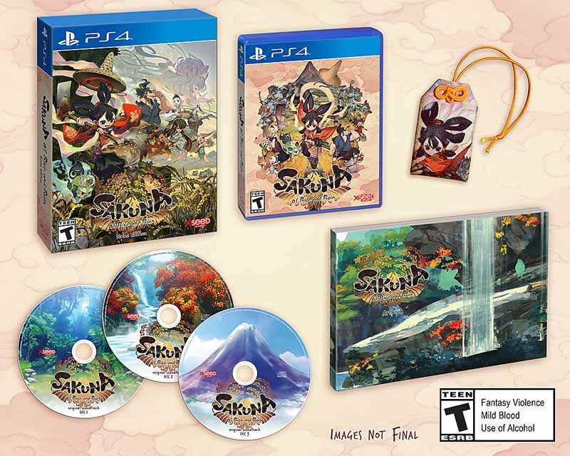 PS4 Sakuna Of Rice and Ruin Divine Edition all items