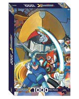Mega Man X 1000 Piece Jigsaw Puzzle