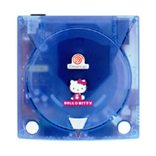 Sega Dreamcast Hello Kitty Blue Limited Edition