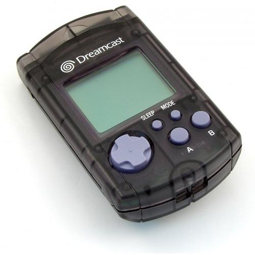 Dreamcast VMU by Sega Clear Black