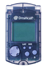 Dreamcast VMU by Sega Clear Black