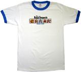 Mega Man Usual Suspects Ringer T-Shirt XL