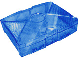 Xbox Clear Blue Color Case