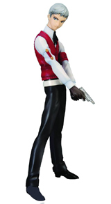 Persona 3: Sanada Akihiko PVC Statue & CD Set
