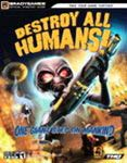 Destroy All Humans Official Strategy Guide Book