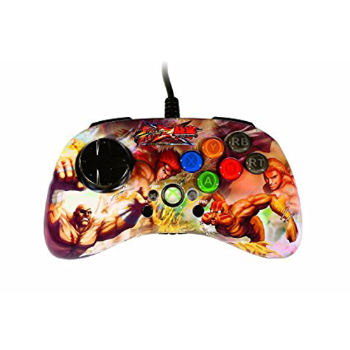 Xbox 360 Street Fighter X Tekken Fight Pad SD Sagat & Dhalsim vs Hwoarang & Steve