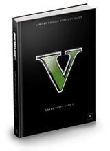Grand Theft Auto V Limited Edition Official Strategy Guide