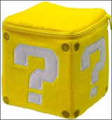 Super Mario Bros Coin Box 5 Inch Plush