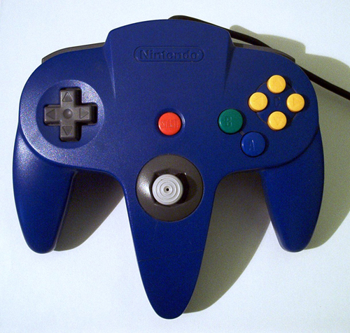 N64 Controller by Nintendo (Blue)