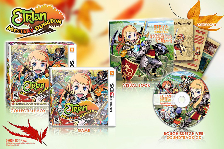 Etrian Mystery Dungeon Launch Edition