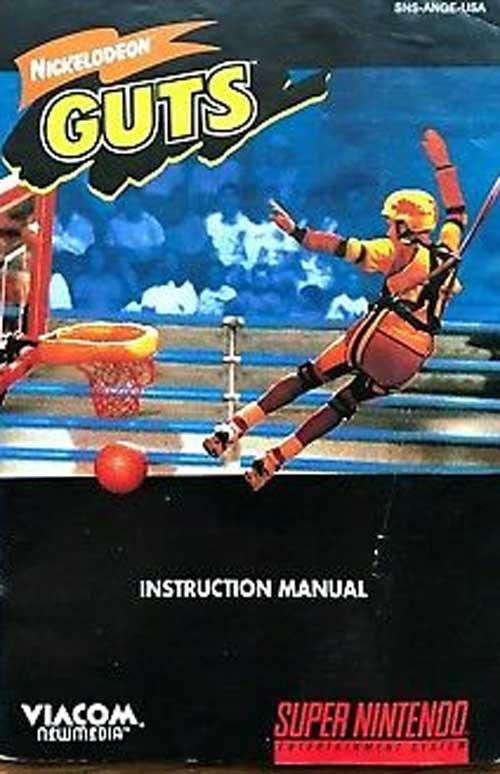Nickelodeon Guts (Instruction Manual)