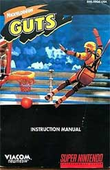 Nickelodeon Guts (Instruction Manual)