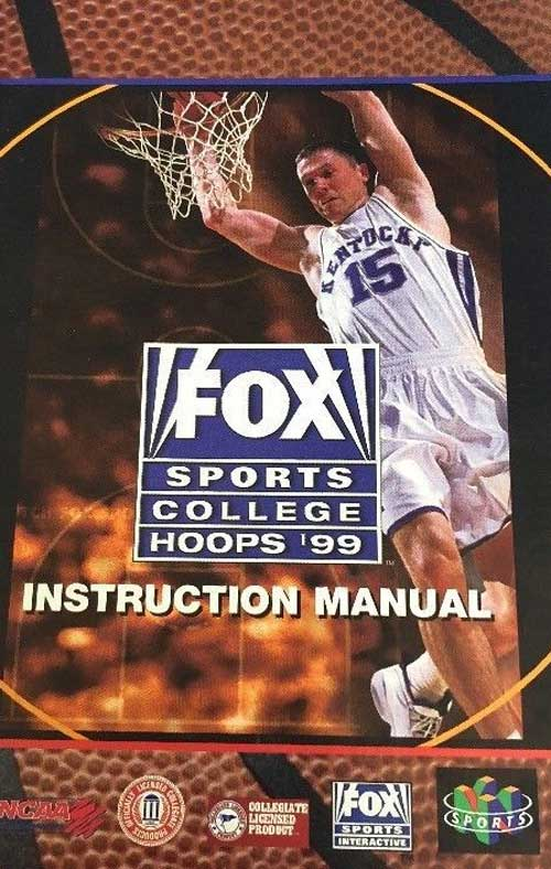 Fox Sports College Hoops '99 (Instruction Manual)