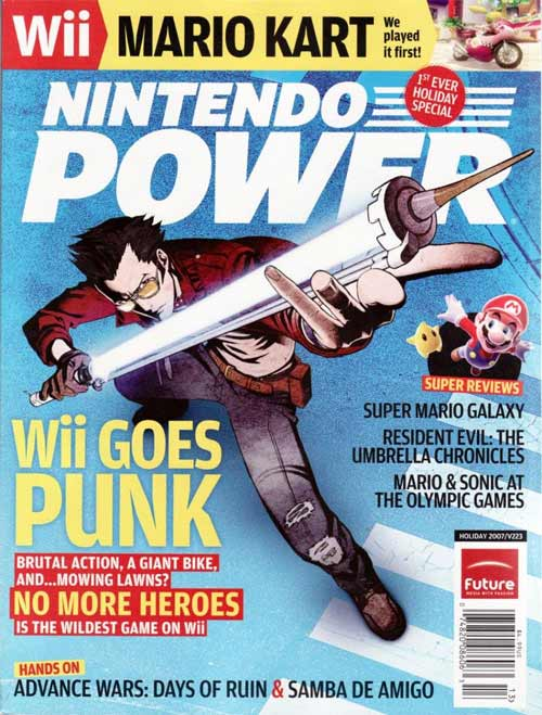 Nintendo Power Volume 223 Wii Goes Punk