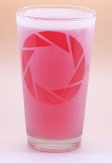 Arts & Crafts: Portal Aperture Science Logo Custom-made 16oz Glass