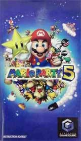 Mario Party 5 (Instruction Manual)