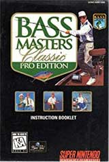 Bass Masters Classic: Pro Edition (Instruction Manual)