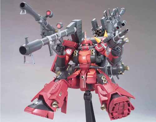 HGTB Gundam Thunderbolt Psycho Zaku 1/144 Scale Model Kit