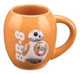 Star Wars The Force Awakens BB-8 18oz Oval Ceramic Mug