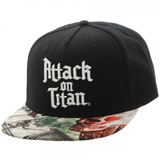 Attack on Titan Sublimated Bill Snapback