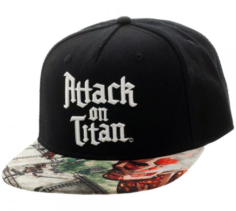 Attack on Titan Sublimated Bill Snapback