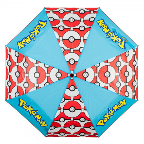Pokemon Pokeball Panel Umbrella